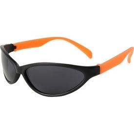 Monogrammed Tropical Wrap Sunglasses