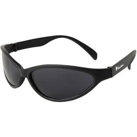 Printed Tropical Wrap Sunglasses