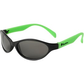 Logo Tropical Wrap Sunglasses