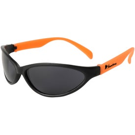 Logo Tropical Wrap Sunglasses