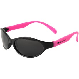 Tropical Wrap Sunglasses for Marketing
