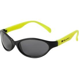 Custom Tropical Wrap Sunglasses
