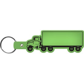 Truck Key Tag Branded with Your Logo