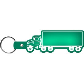 Advertising Truck Key Tag