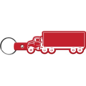 Personalized Truck Key Tag