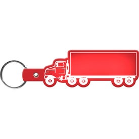 Promotional Truck Key Tag