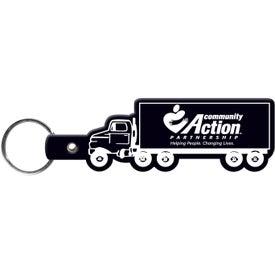 Customized Truck Key Tag