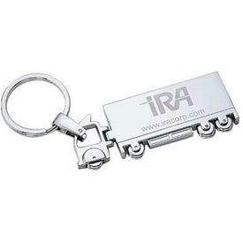 Chrome Plated Truck Shape Keyholder