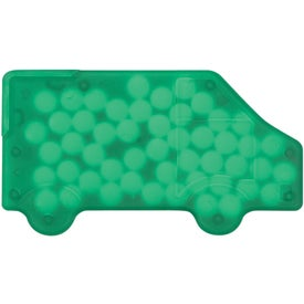 Truck Shaped Peppermints for Marketing