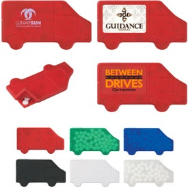 Truck Shaped Peppermints for Your Company
