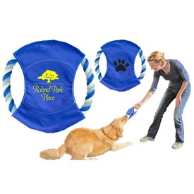 Customized Tug & Throw Dog Toy
