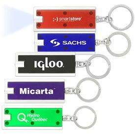Personalized Turbo Flashlight Key Chain