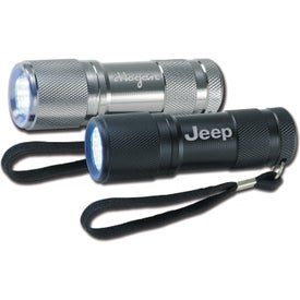 Imprinted 12 LED Flashlight