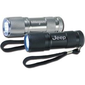 Imprinted 12 LED Flashlight