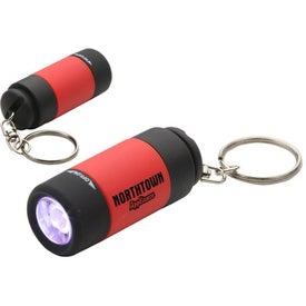 Monogrammed Twist Light LED Key Chain