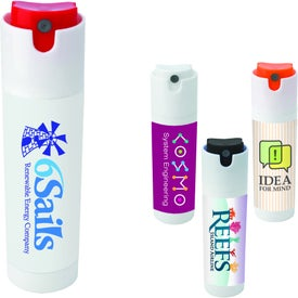 Logo Twist Lock Hand Sanitizer Spray Pump