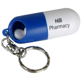 Twist A Pill Keychain for Promotion