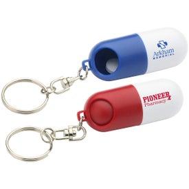 Twist A Pill Keychain