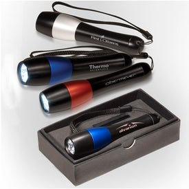 Two-Tone 3 LED Torch for Marketing