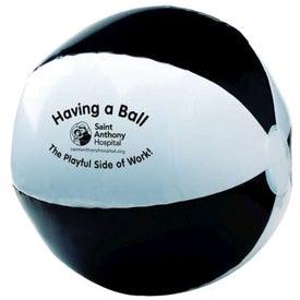 Advertising Two Tone Beach Ball
