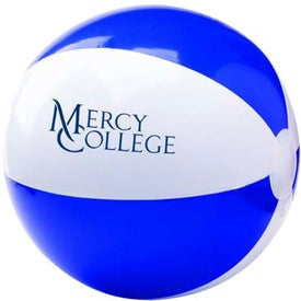 Two Tone Beach Ball Printed with Your Logo