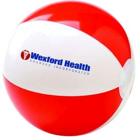 Two Tone Beach Ball for Advertising