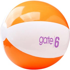 Two Tone Beach Ball with Your Logo