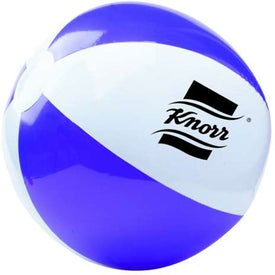 Company Two Tone Beach Ball
