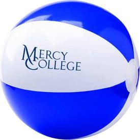 Logo Two Tone Beach Ball