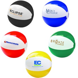 Two Tone Beach Ball