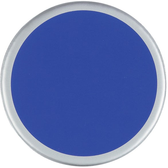 Blue / Silver 4-Pack Two-Tone Coaster