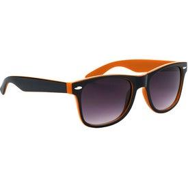 Two-Tone Malibu Sunglasses for Your Organization