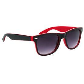 Promotional Two-Tone Malibu Sunglasses