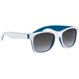 Logo Two-Tone Malibu Sunglasses