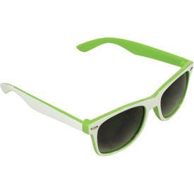 Promotional Two-Tone Malibu Sunglasses