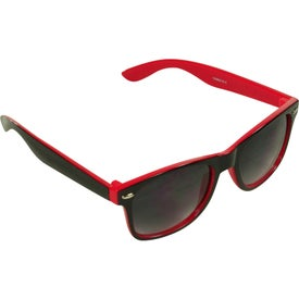 Customized Two-Tone Malibu Sunglasses