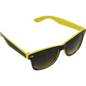 Two-Tone Malibu Sunglasses Branded with Your Logo