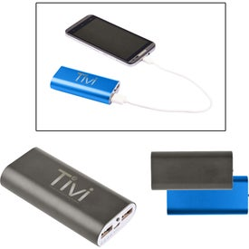 Mega Capacity Metal Power Bank Charger (4400 mAh, UL Listed)