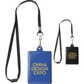 Ultra ID Holder with Lanyard