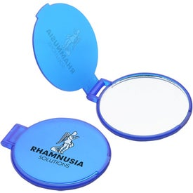 Ultra Thin Pocket Mirror Branded with Your Logo