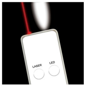 Personalized Ultra Slim Laser Pointer And Led Light Combo