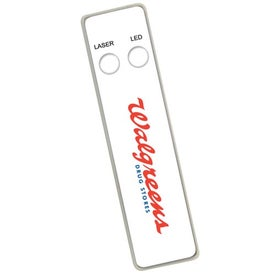 Ultra Slim Laser Pointer And Led Light Combo for Promotion