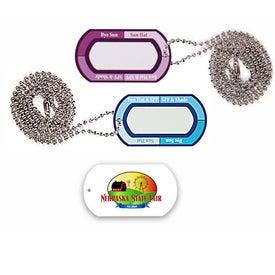Ultraviolet Meter Tag Chain