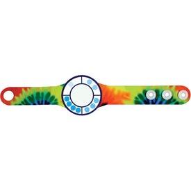 Monogrammed Ultraviolet Meter Wristband