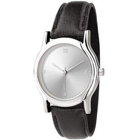 Unisex Oval Design Watch with Your Slogan