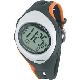 Unisex Sport Stop Watch with Your Slogan