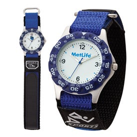 Imprinted Matte Silver Unisex Watch