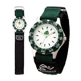 Printed Matte Silver Unisex Watch