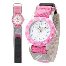 Company Matte Silver Unisex Watch