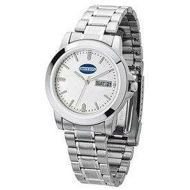 Silver Finish Unisex Watch